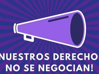 Nuestros derechos no se negocian