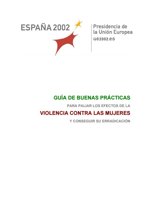 Guía de buenas prácticas. Violencia