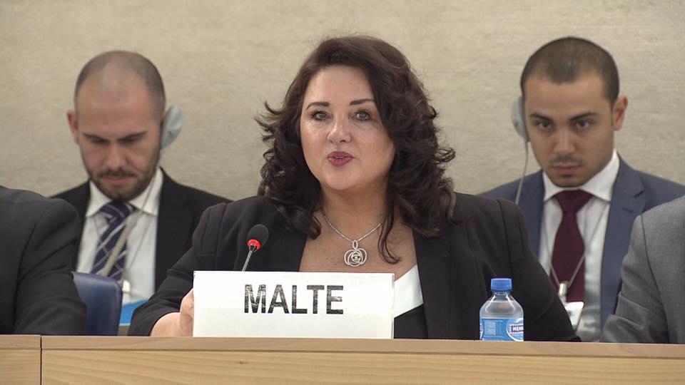 Helena Dalli 2018 nueva comisaria igualdad