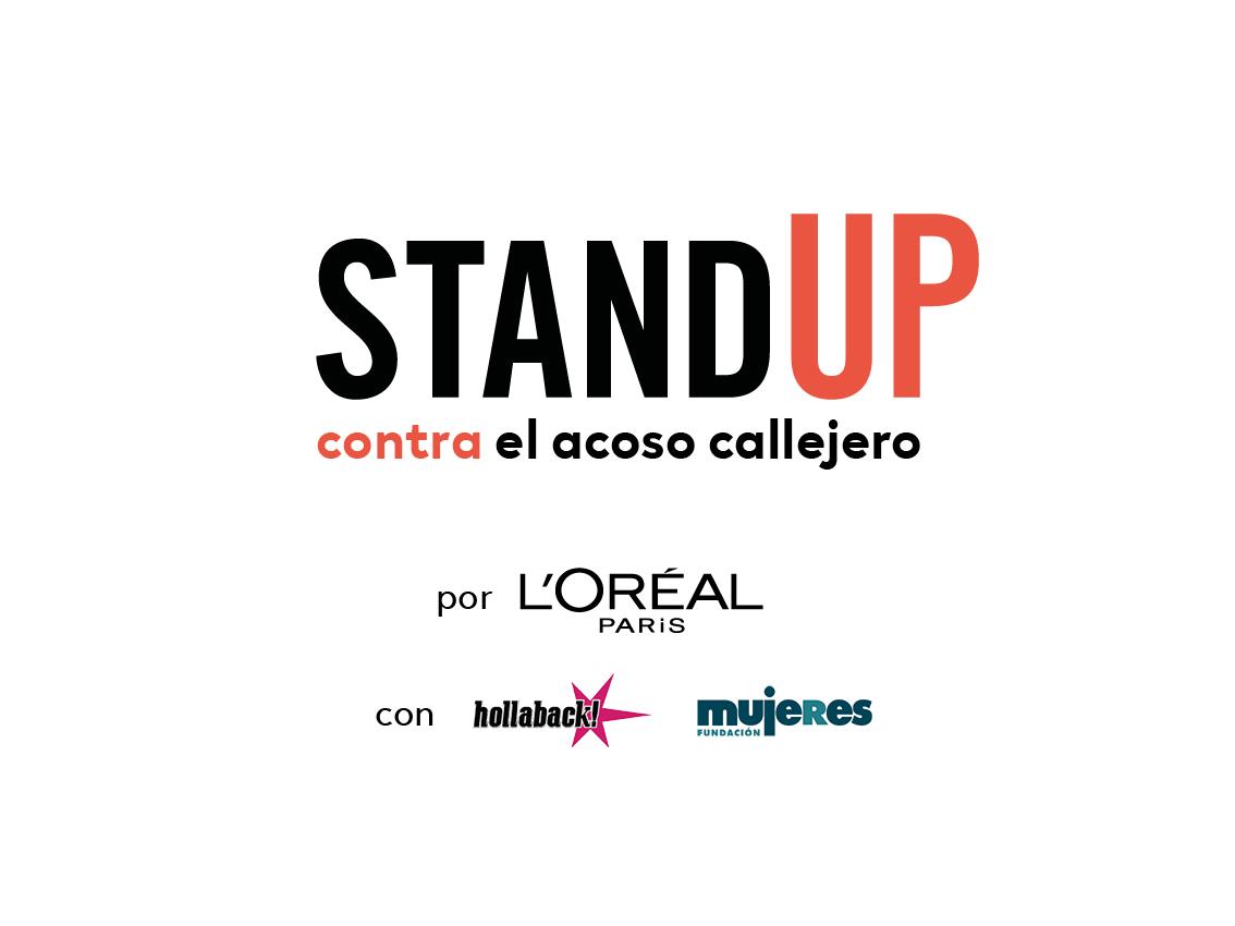 Logo Stand Up Fundacion Mujeres