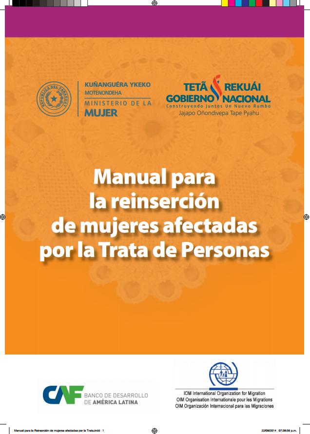Manual para la Reinsercion de Mujeres Afectadas por la Trata de Personas