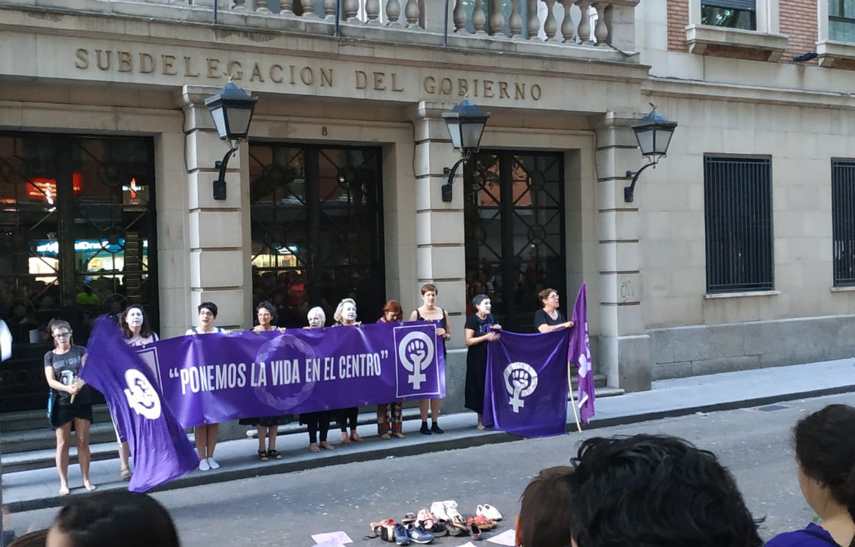 Concentración 8 de julio Guadalajara
