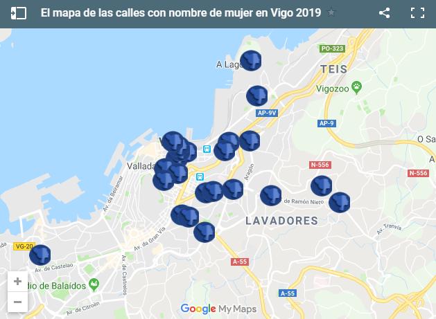 mapa interactivo vigo