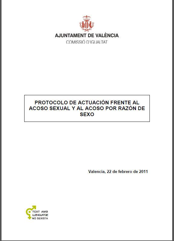 protocolo actuascion fente aacoso sexual- valencia